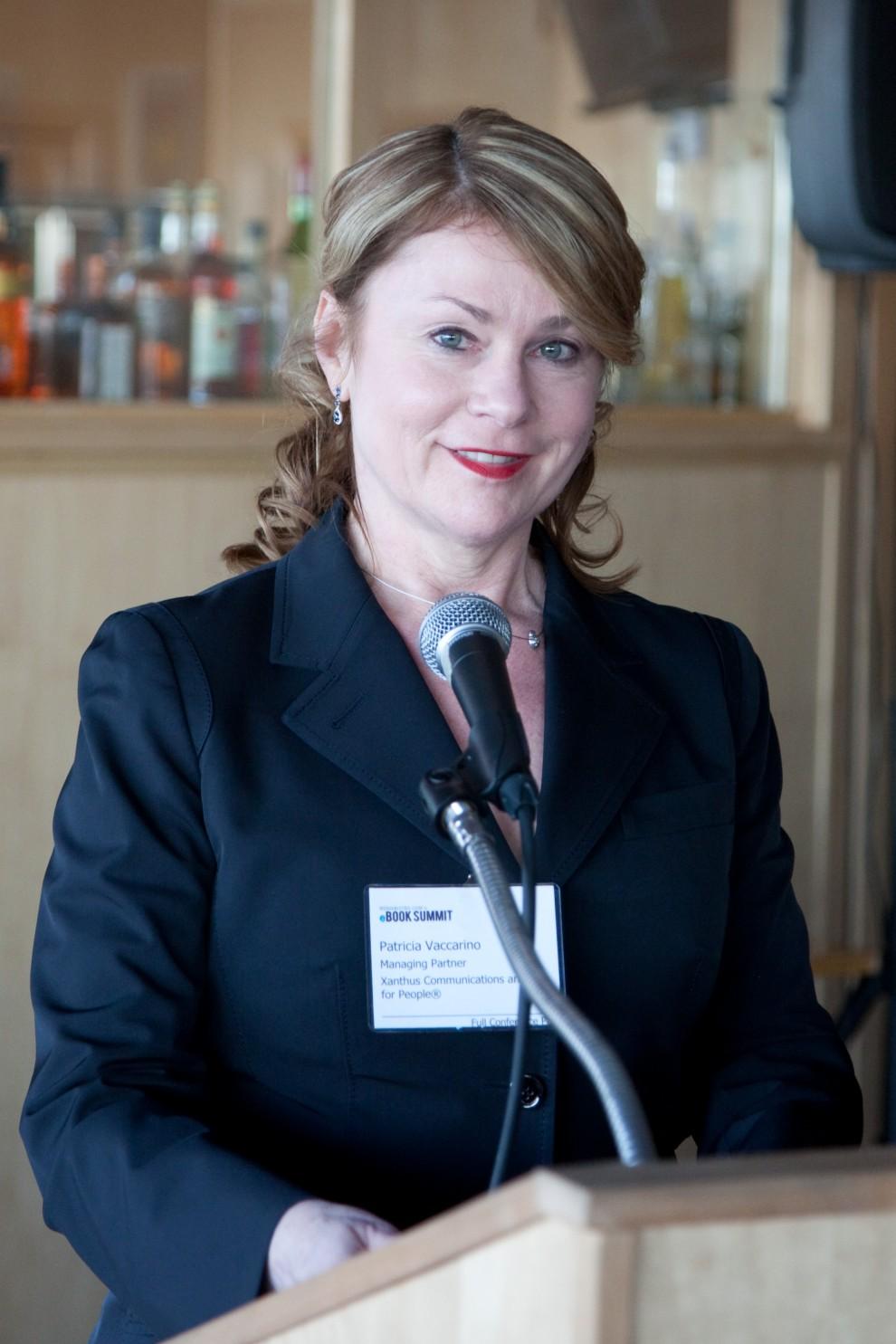 Patricia Vaccarino, moderator