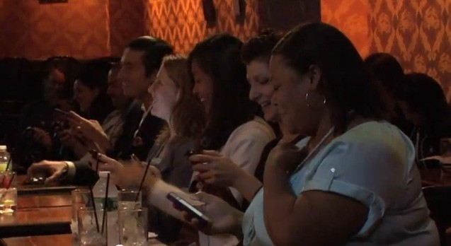 The ProTexting Audience at StandUpNY