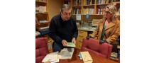 Franco Tesorieri and Patricia Vaccarino